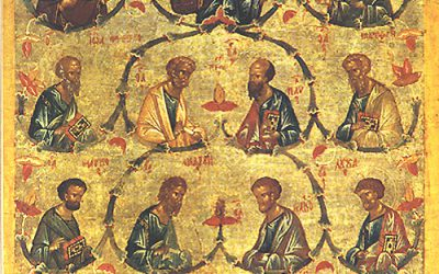 June 30; Third Sunday after Pentecost, Octoechos Tone 2; The Synaxis of the Holy, Glorious and All-Praiseworthy Twelve Apostles
