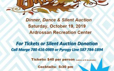 """Octoberfest"" Saturday, October 19, 2019, sponsored by St. Sophia Parish"