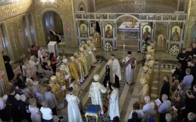 VIDEO: UGCC Bishops Gather for Great Vespers and Divine Liturgy at St. Sophia Parish in Rome