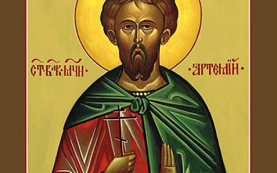 Oct 20; Nineteenth Sunday after Pentecost, Octoechos Tone 2; The Holy Great-Martyr Artemius (360-363)