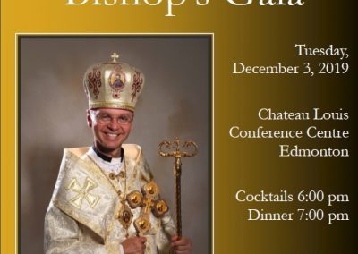 10th Annual Bishop's Gala, Tuesday, December 3, 2019