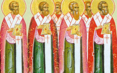Nov 10; Twenty-Second Sunday after Pentecost, Octoechos Tone 5; The Holy Apostles Erastus, Olympus, Rodion and those with them