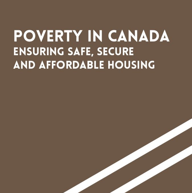 The Episcopal Commission for Justice and Peace Publishes a Statement on Poverty in Canada