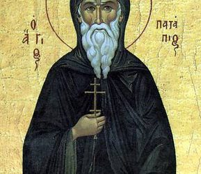 Dec 08; Twenty-Sixth Sunday after Pentecost, Octoechos Tone 1; Our Venerable Father Patapius