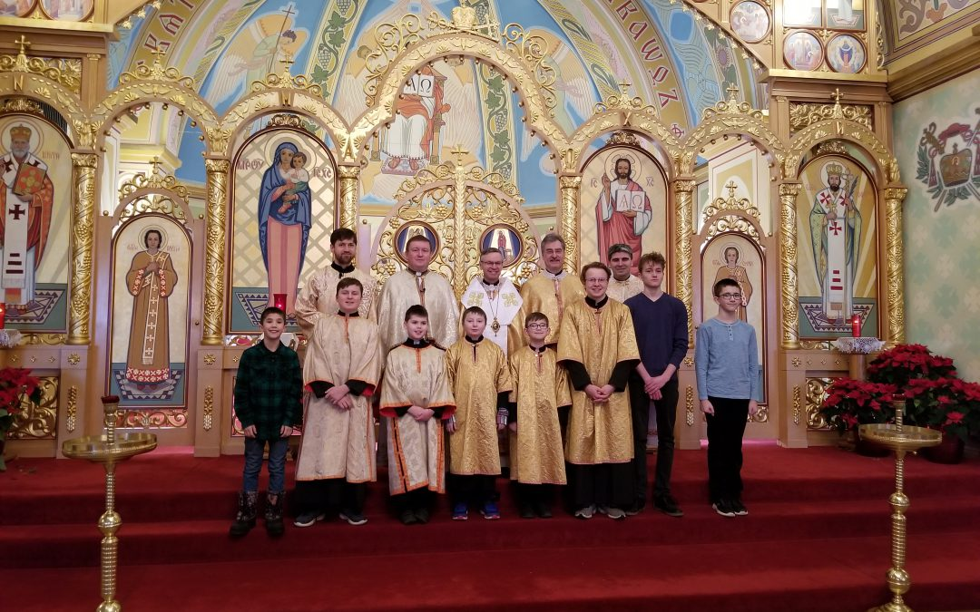 St. Josaphat Cathedral hosts Annual Altar Server Gathering