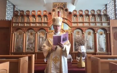 VIDEO: Pachal Greeting by the clergy of New Westminster