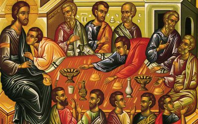 April 9; Vespers with the Divine Liturgy of St. Basil the Great on Great Thursday