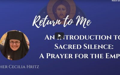 Video: An Introduction to Sacred Silence: Prayer for the Empty