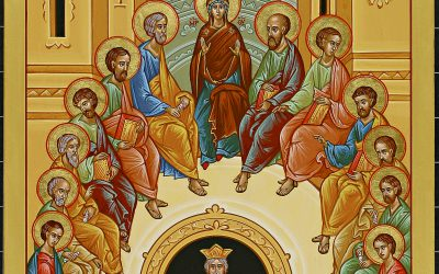 Descent of the Holy Spirit Icon