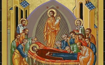Dormition of the Holy Mother of God Icon