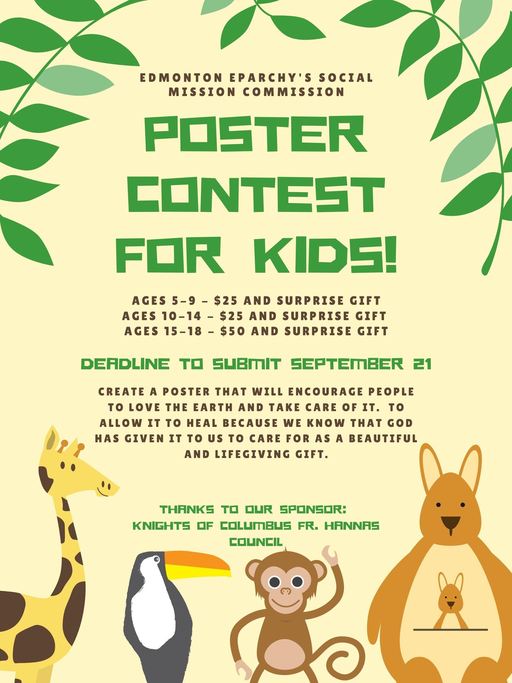 Edmonton Eparchy Poster Contest