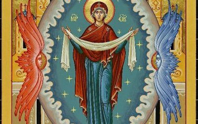 Icon of the Protection of the Most Holy Mother of God