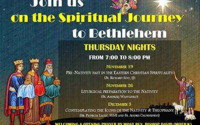 Spiritual Journey to Bethlehem. Presentation by Fr Andrzej Wasylinko