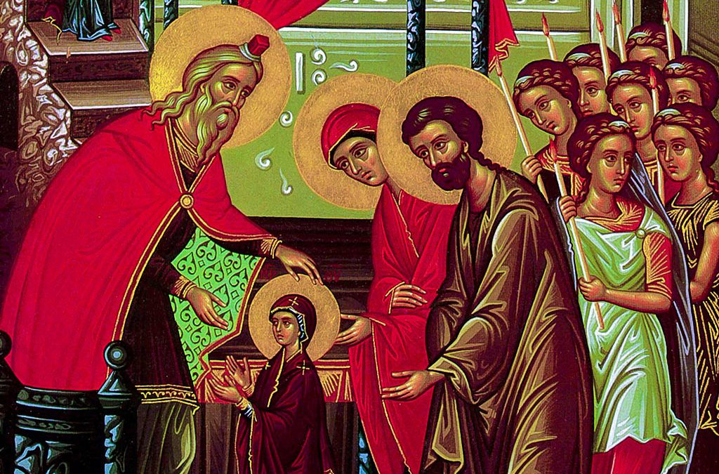 Entrance of the Holy Mother of God into the Temple (Nov. 21) Activities for the Domestic Church (Family)