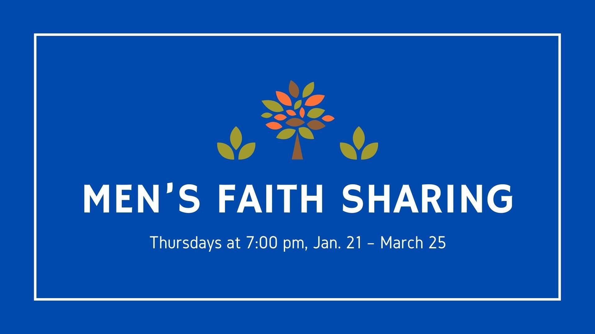 Men's Faith Sharing