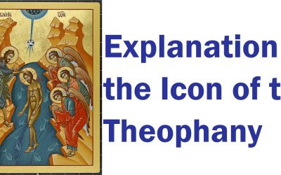 Explanation of the Icon of the Theophany