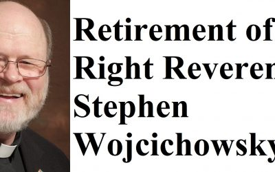 Bishop David Blessed the Retirement of Right Reverend Stephen Wojcichowsky.