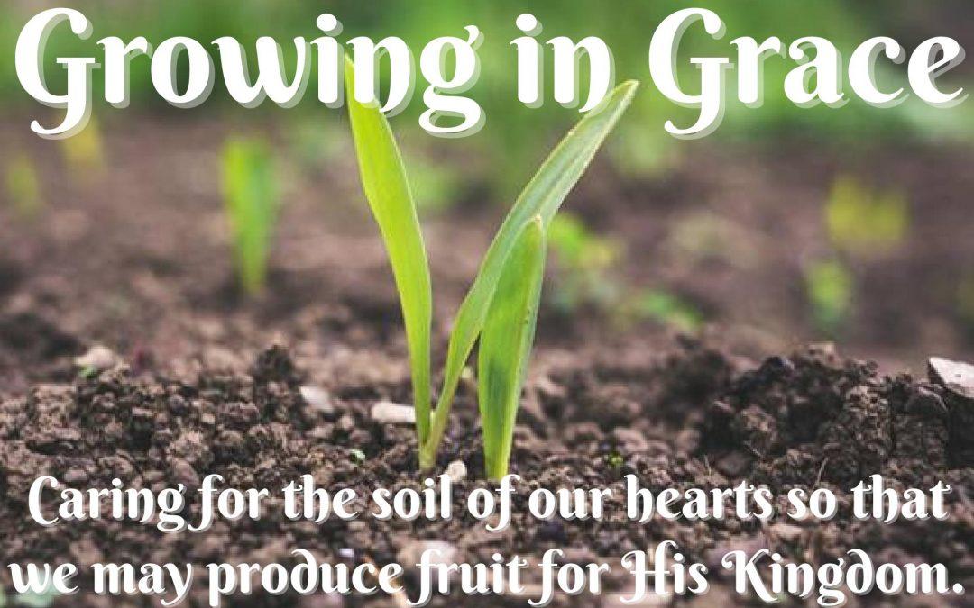 Growing in Grace; a Lenten Webinar Series