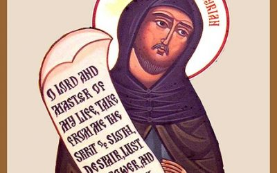 The St. Ephrem Prayer