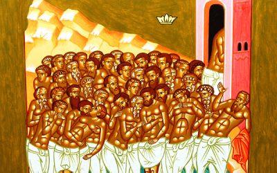 Mar 9; The Holy Forty Martyrs of Sebaste (321-23)