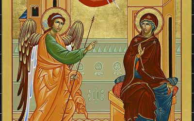 Icon of the Annunciation of the Most Holy Mother of God