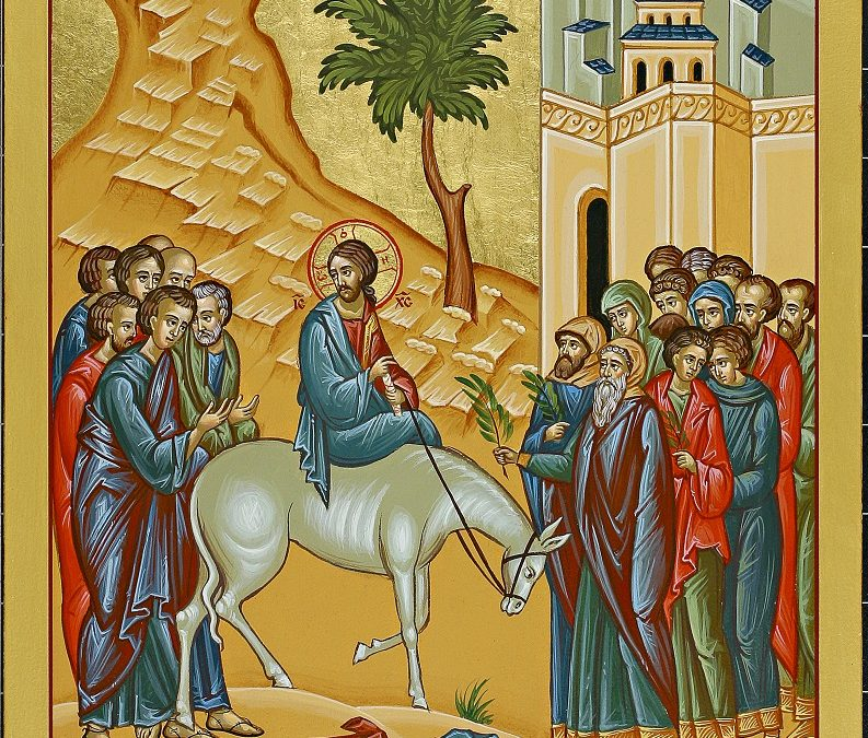 Learn About the Triumphal Entrance into Jerusalem Icon