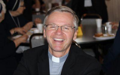 Who is Bishop David Motiuk?