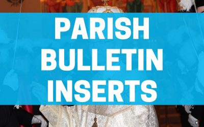 Ukrainian Catholic Parish Bulletin Inserts