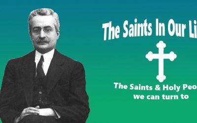 Who was Saint Giuseppe Moscati?