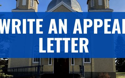 How to Write a Parish Appeal Letter