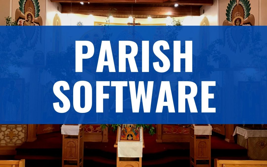 What Parishes are Doing: Church Management Software