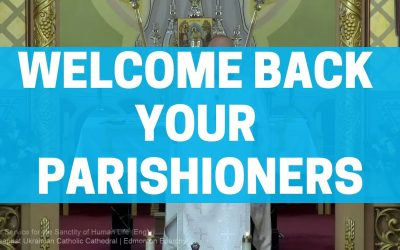 How to Welcome Parishioners Back to Church