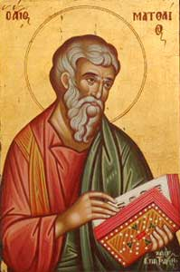Aug 09, Holy Apostle Matthias
