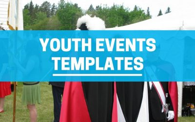 Youth Ministry Event Templates