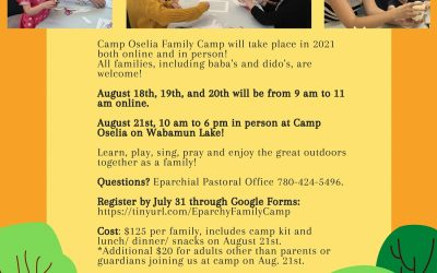 Join the Edmonton Eparchy's Family Camp!
