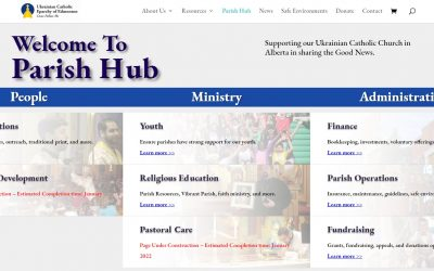 Parish Hub Officially Launches in the Eparchy of Edmonton