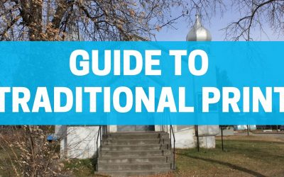 Guide to Traditional Print: Posters, PowerPoints, Pamphlets and more.