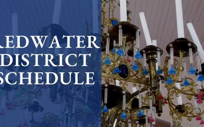 Schedule for Redwater District Parishes October 2021 – March 2022