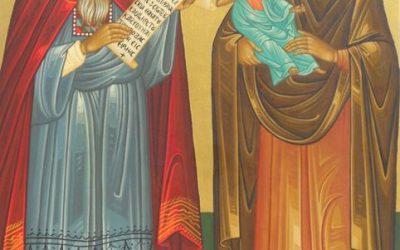 Fifteenth Sunday after Pentecost, Tone 6; Holy Prophet Zachariah and Elisabeth, Parents of John the Baptist; 2 Corinthians 4:6-15; Matthew 22:35-46
