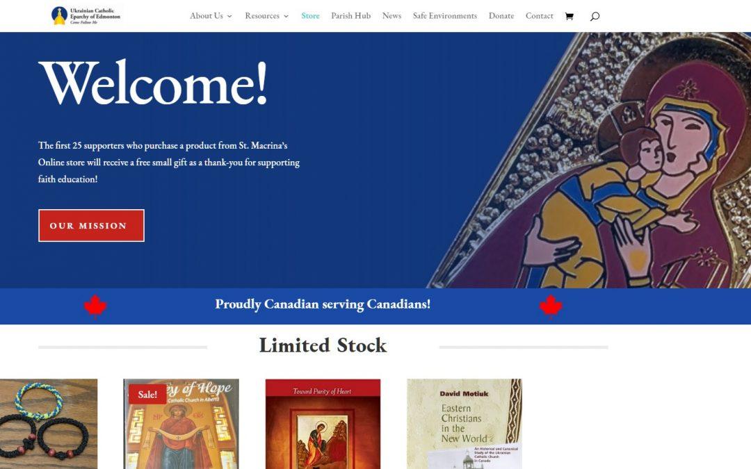 Edmonton Eparchy Launches New Online Store